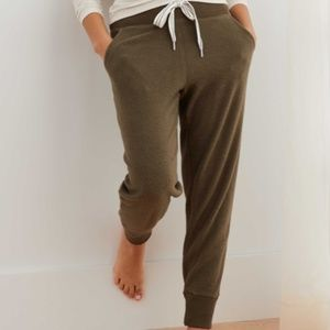 NWOT AERIE DREAMY SOFT INSIDE OUT JOGGER